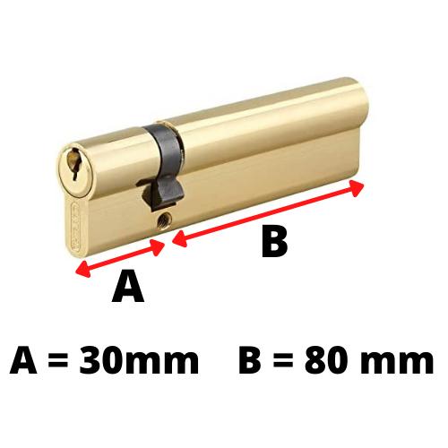 comment mesurer démonter cylindre barillet serrure